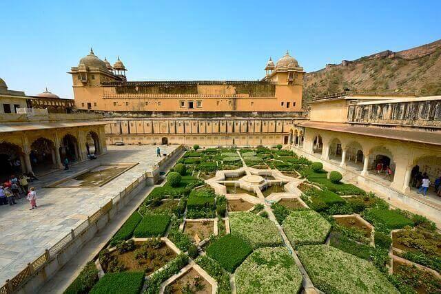 Fort Amber Jaipur Indien