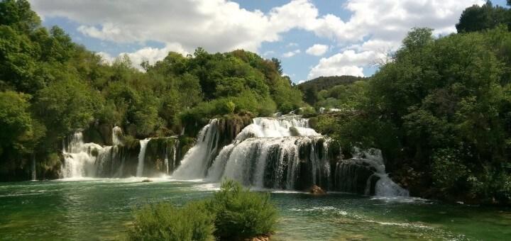 Nationalpark Krka Wasserfälle