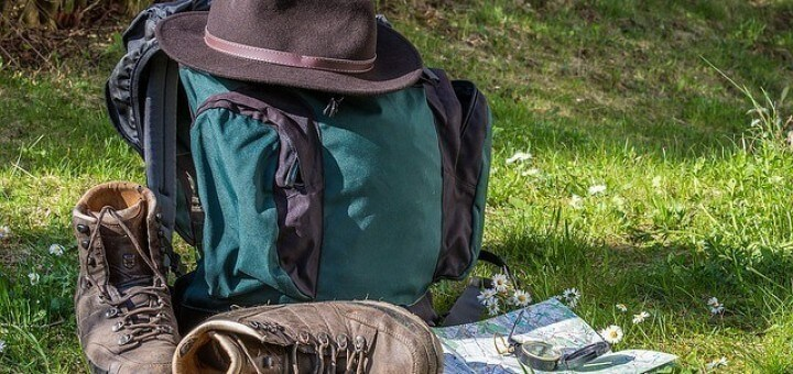 Rucksack, Wandern