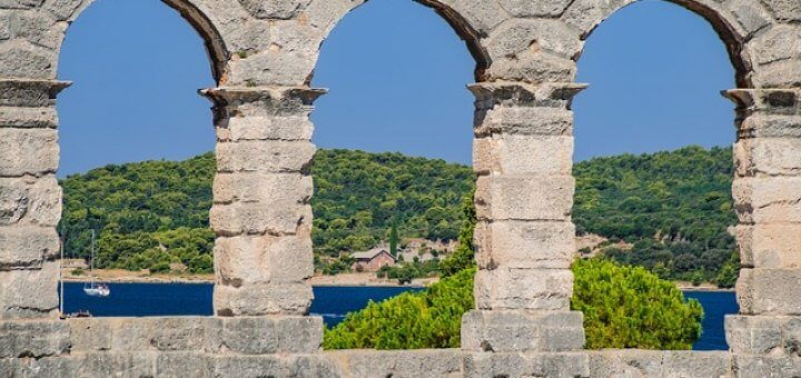 Pula Kroatien Amphietheater