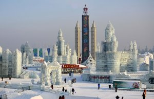 Eisfestival Harbin China