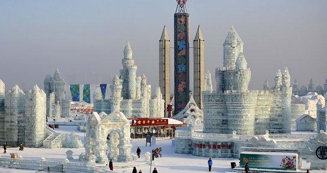 Eisfestival Harbin China