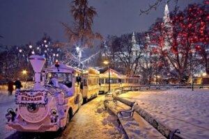 Winter in Österreich, Wien