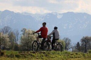 Radreise Tirol, Österreich
