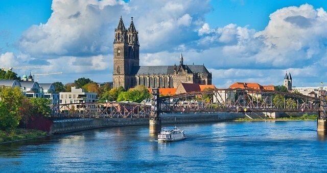 Flusskreuzfahrten an der Elbe, Magdeburg