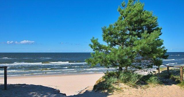Polen Ostseekueste, Sandstrand