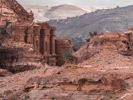 Jordanien, wandern rund um Petra