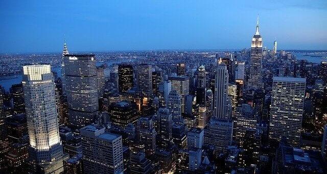 New York - Blick über die Stadt
