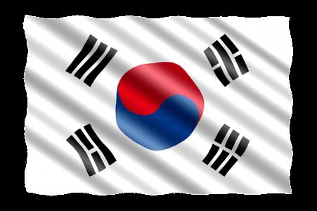 Südkorea Fahne