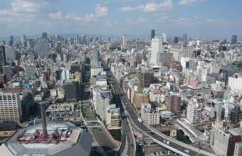 Japan-Osaka, Japan Rundreisen