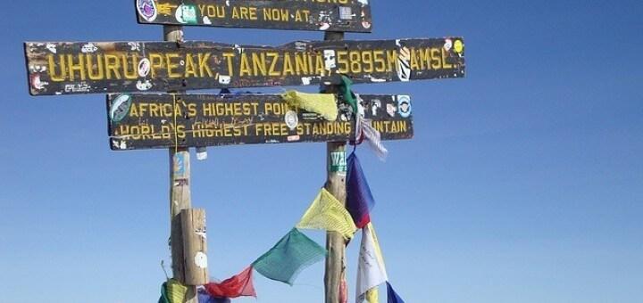 Kilimanjaro Wandereisen Afrika