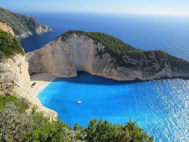 Reisen August Griechenland