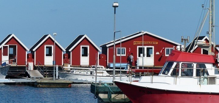 Hausboote Dänemark Urlaub